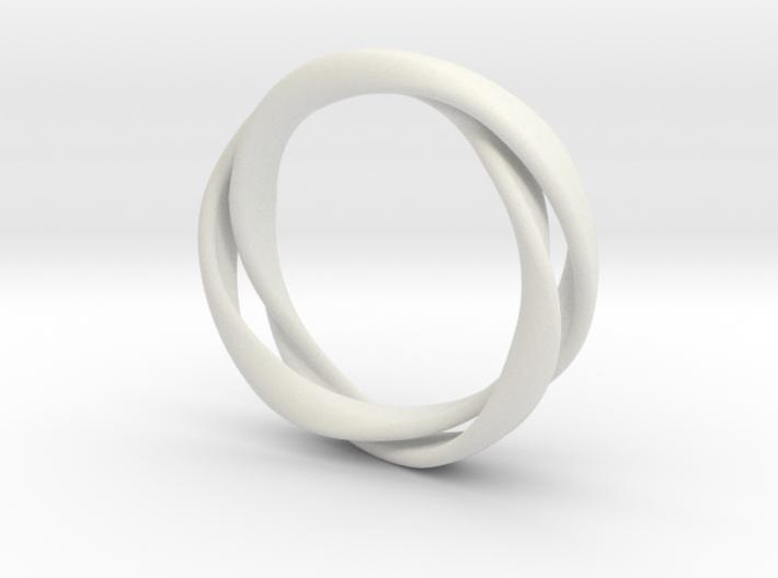 3-Twist Ring 3d printed