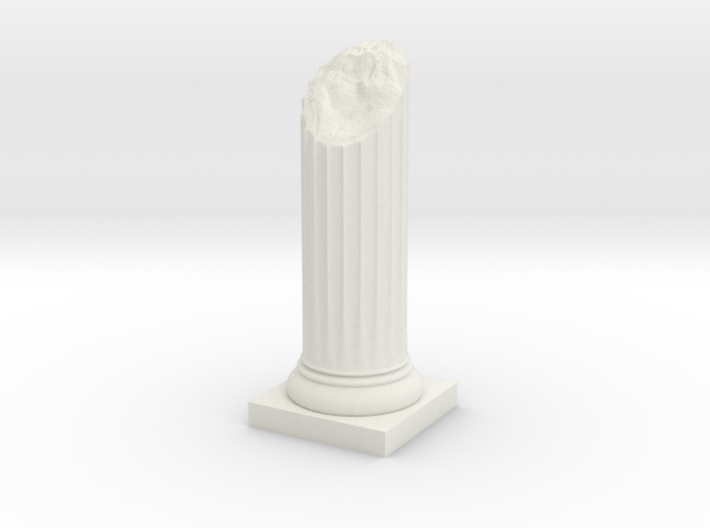 Pillar Broken Bottom Original Lrg 3d printed