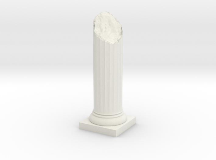 Pillar Broken Bottom Variation 02 Lrg 3d printed