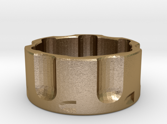 Revolver Cylinder Ring Size 13 3d printed