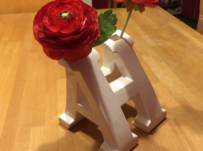 Vase H and A 3d printed