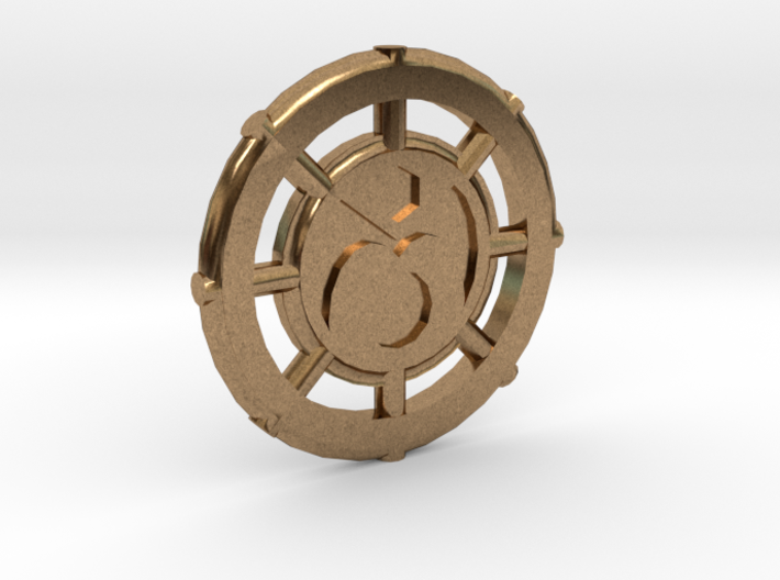 Ions Coin 3d printed