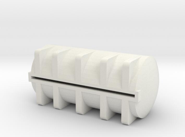 1/64 S scale 5025 gal. Horizontal Leg Tank 3d printed