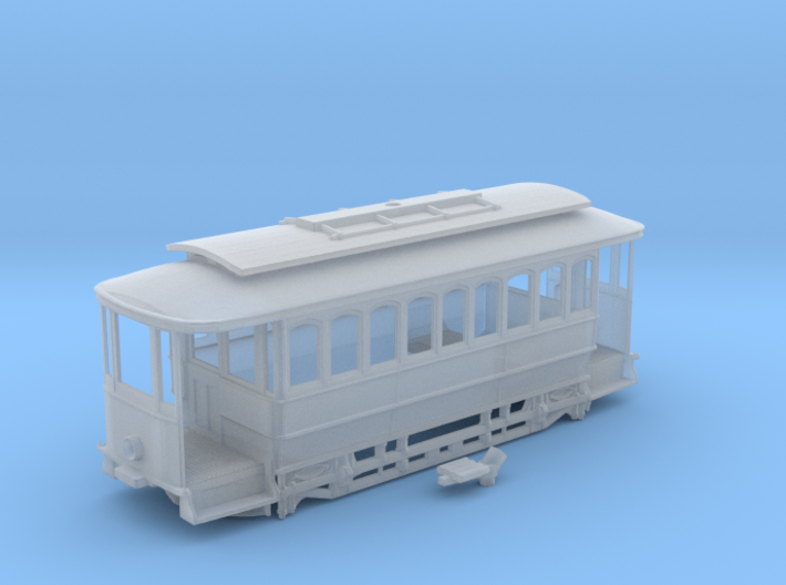 Sydney C Class Tram N Scale 1:148 3d printed