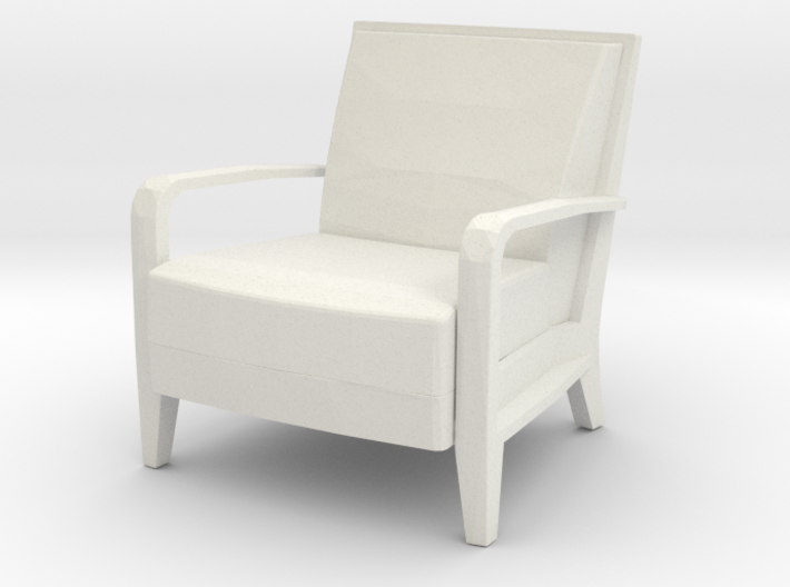 Serengeti Lounge Chair 1:24 scale 3d printed