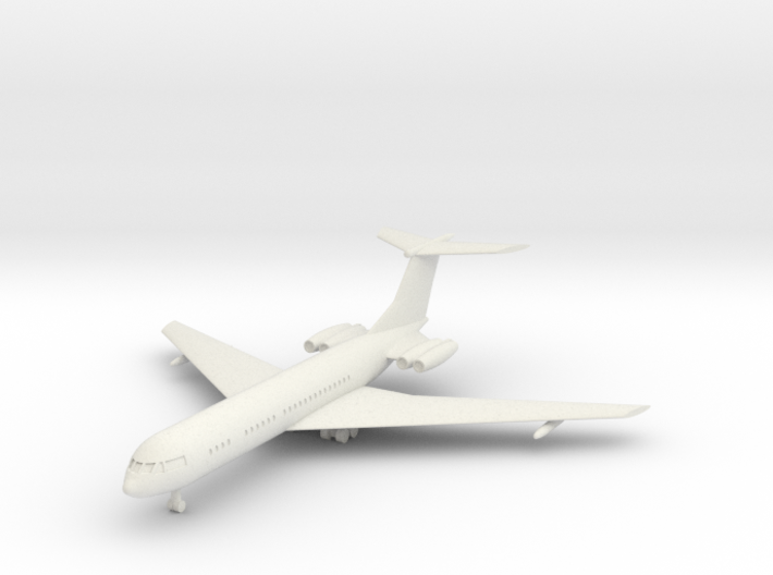 1/285 Vickers VC-10 3d printed