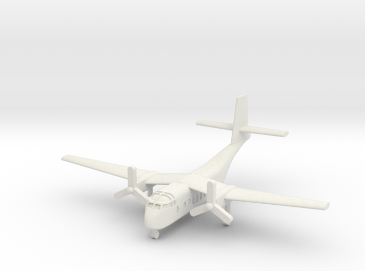 1/285 DHC-4A Caribou 3d printed