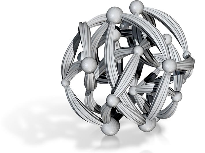 McDaniel Sphere 6in 3d printed