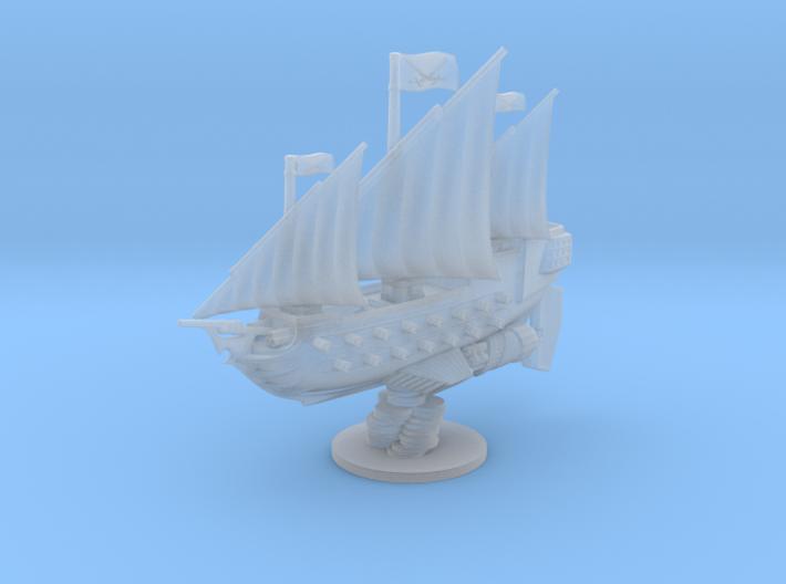White Sails 3d printed