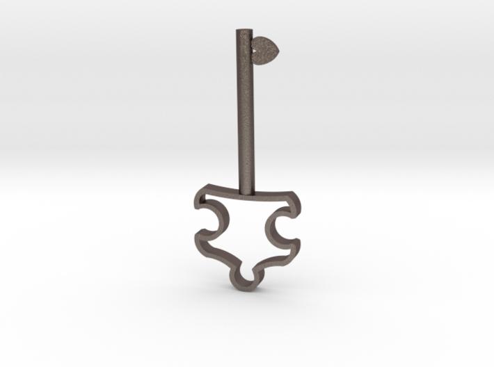 Autism Key Pendant 3d printed