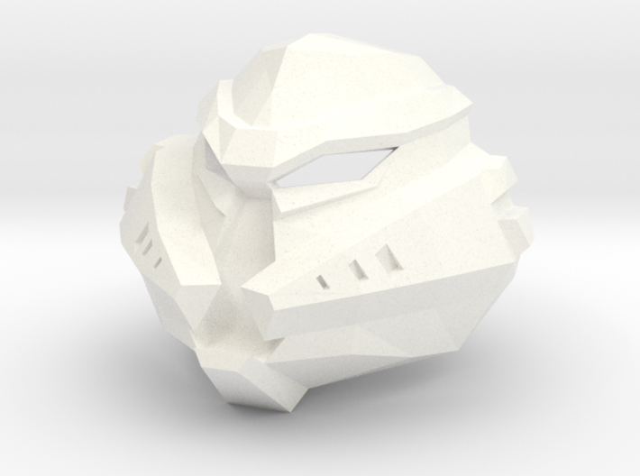 Kanohi Pungao - Mask of Elemental Energy (Bionicle 3d printed