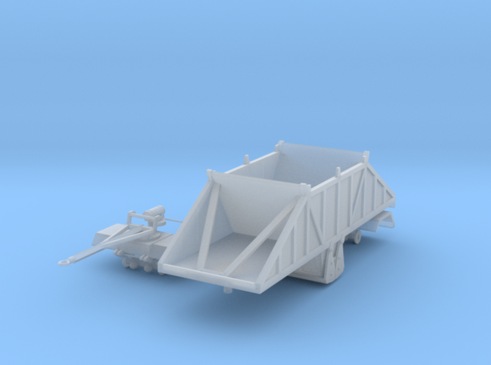 1/64th 24 foot Crossgate belly dump pup trailer 3d printed