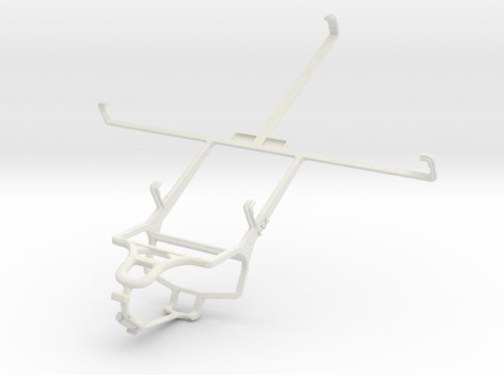 Controller mount for PS4 & ZTE V81 3d printed