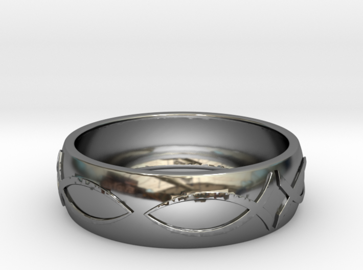 Size 11 Ring 3d printed
