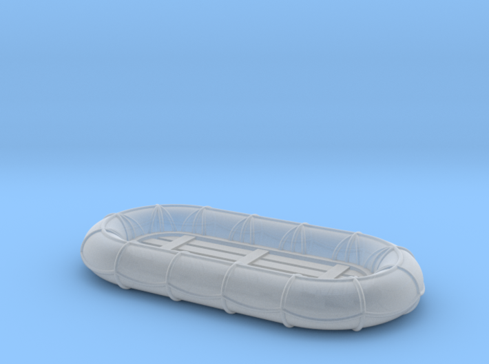 10ft x 5ft Carley float 1/72 3d printed