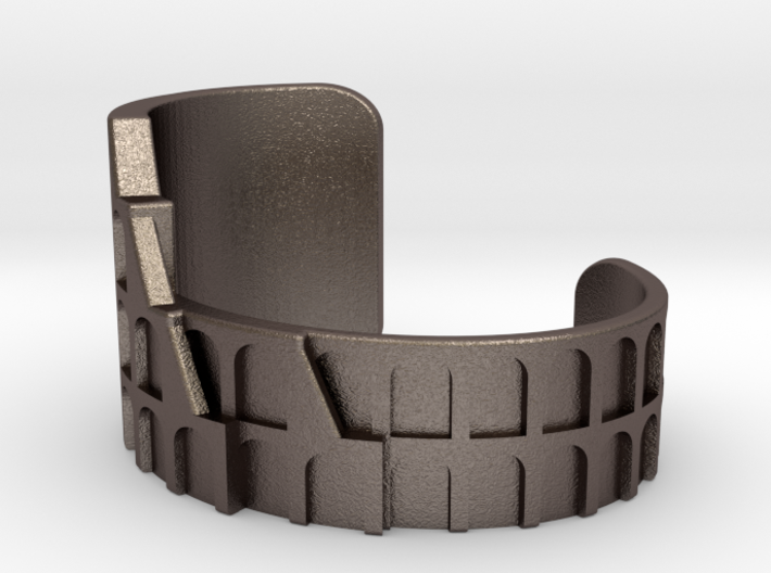 Colosseum Bracelet Size Extra Small (Metal Version 3d printed