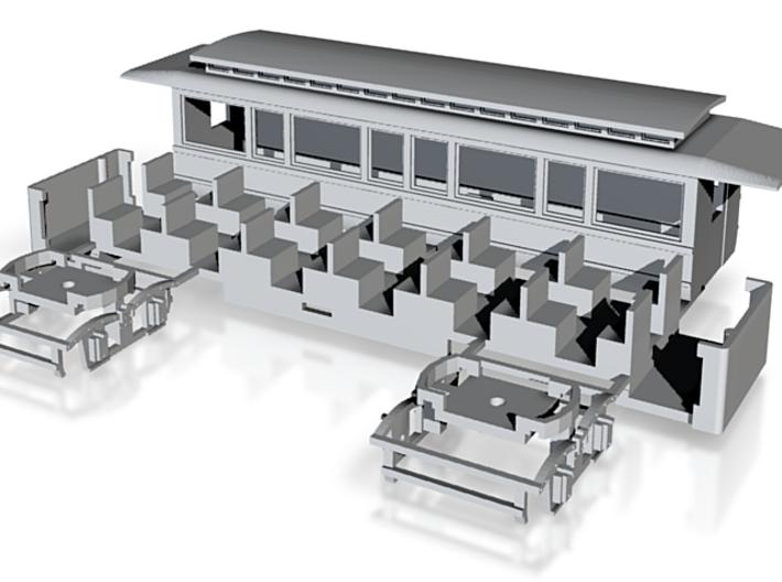Dampfbahn Beiwagen OEG 3d printed