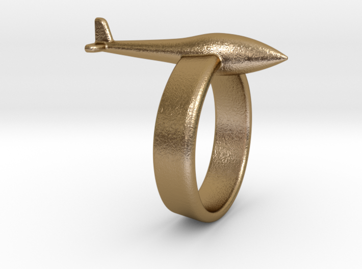 Glider ring (conventional tail) 3d printed