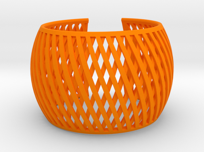 Bracelet Brace line 3d printed