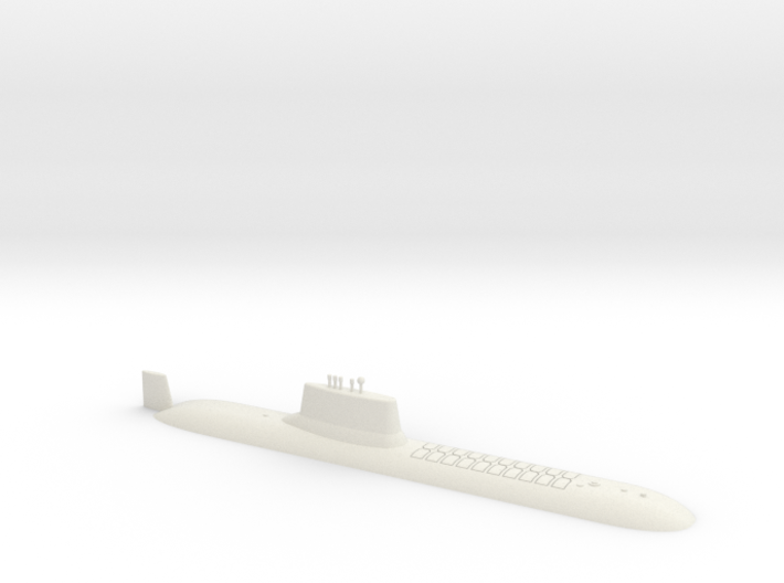 1/700 Typhoon Class SSBN (Waterline) 3d printed