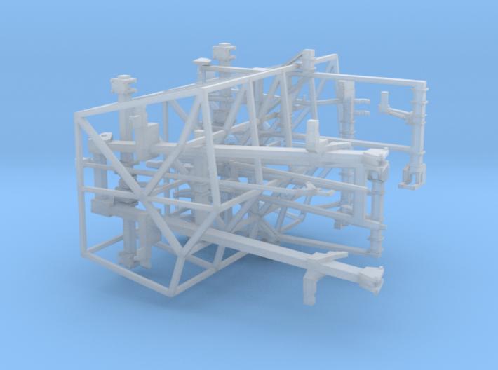 1/64 Dominator #1 Frames (10 degrees) 3d printed