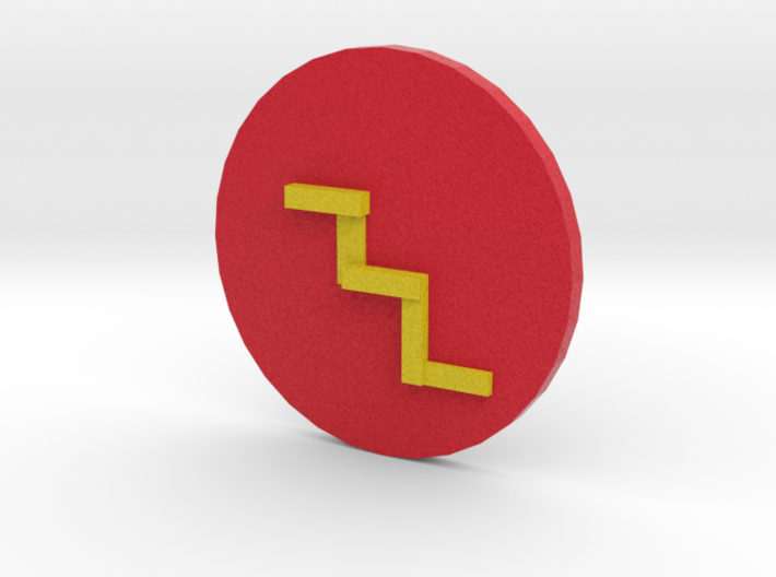 Printable Flash Symbol 3d printed