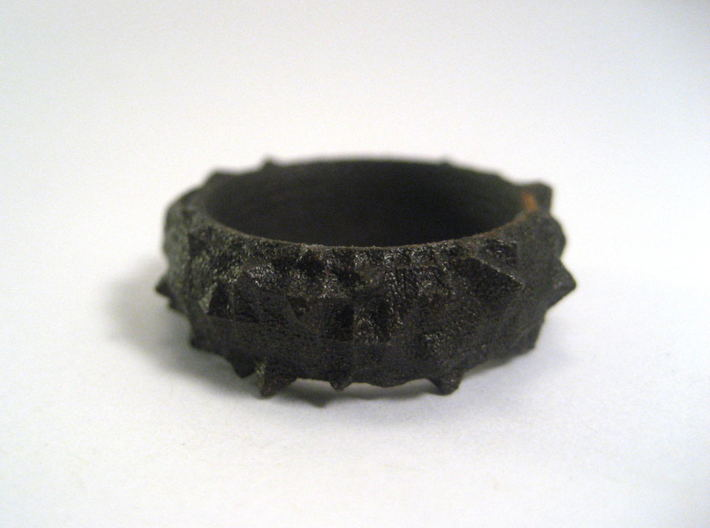 Facets Ring (Size 7) 3d printed