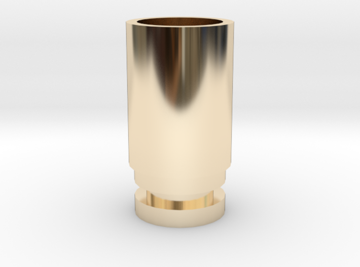 WIDE BORE DRIP TIP (NEEDS O-RING) 3d printed