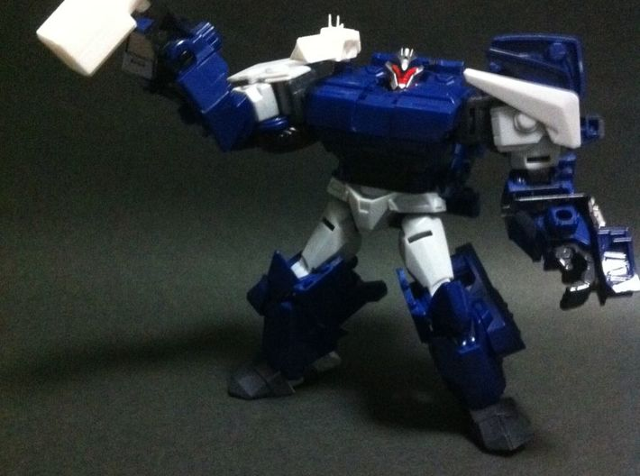 TFP BD weapon upgrade set 3d printed complete the big guy with big weapons