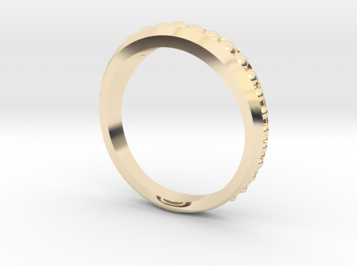 Ring Size 5 3d printed