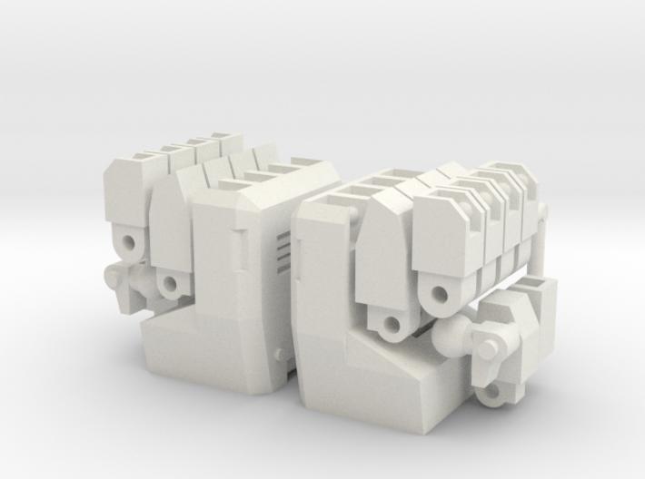 MP22 Ultra Magnus Full Articulated Hands 3d printed