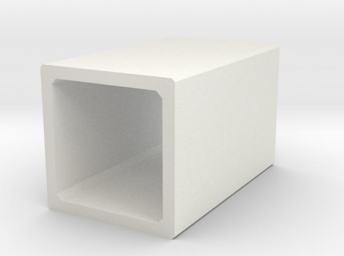 H0 Box Culvert (size 2) 3d printed