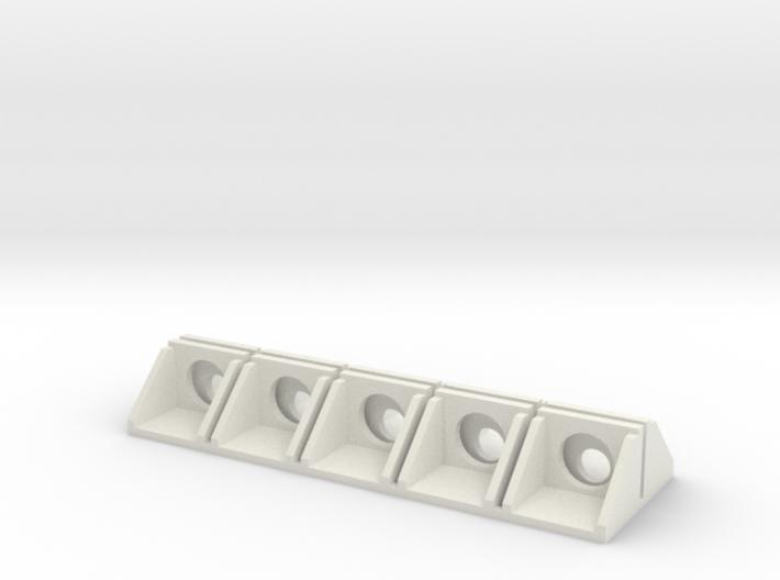 N Scale Culvert Headwall ø600mm + ø1000mm 10pc 3d printed