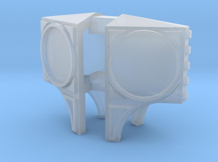 2 Nasenuhren (N 1:160) 3d printed