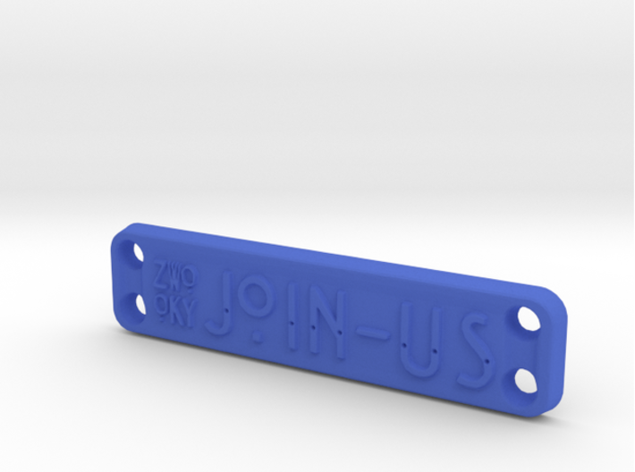 ZWOOKY Style 21 Sample - clothes tag 3d printed ZWOOKY