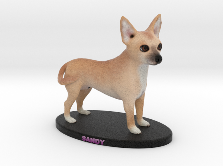 Custom Dog Figurine - Sandy 3d printed
