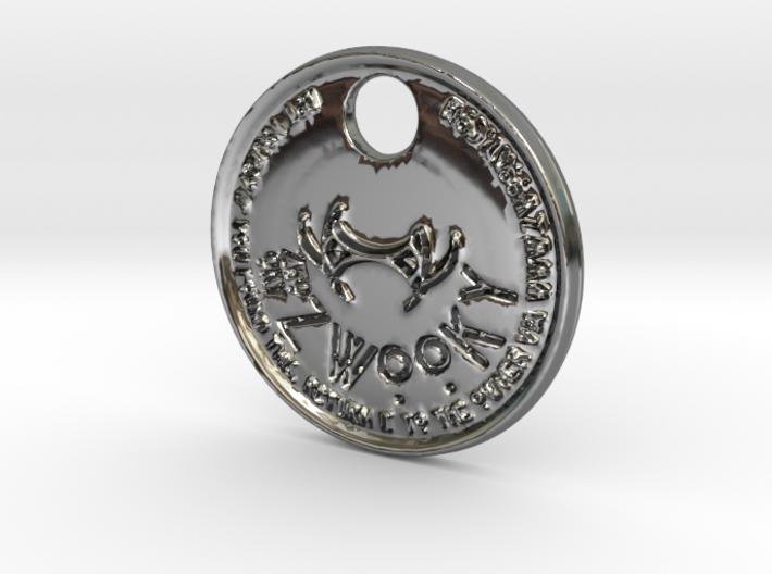 ZWOOKY Style 162 - pendant Ba-Al 3d printed
