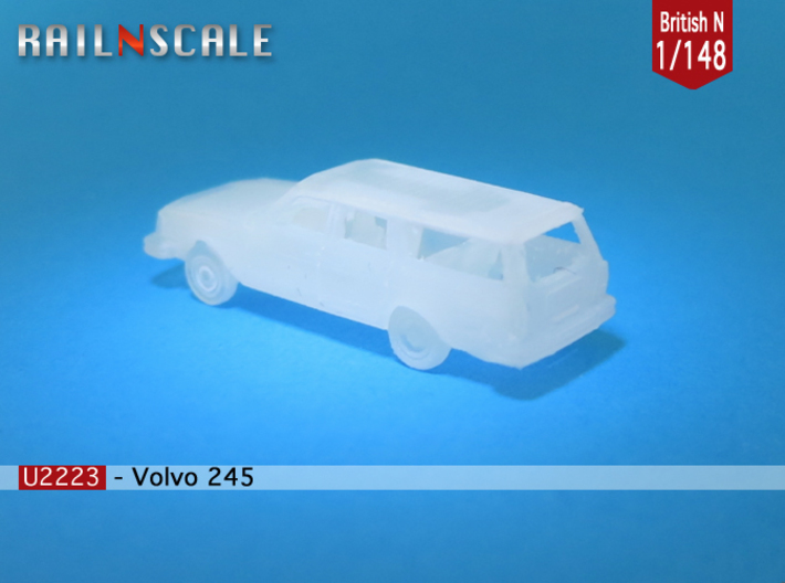 Volvo 245 DL (British N 1:148) 3d printed