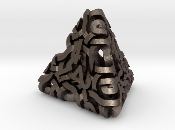 Ring d4 3d printed