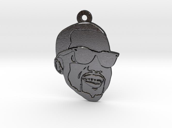 Kanye West 3d printed