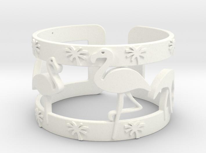 Flamingo Bracelet 3d printed