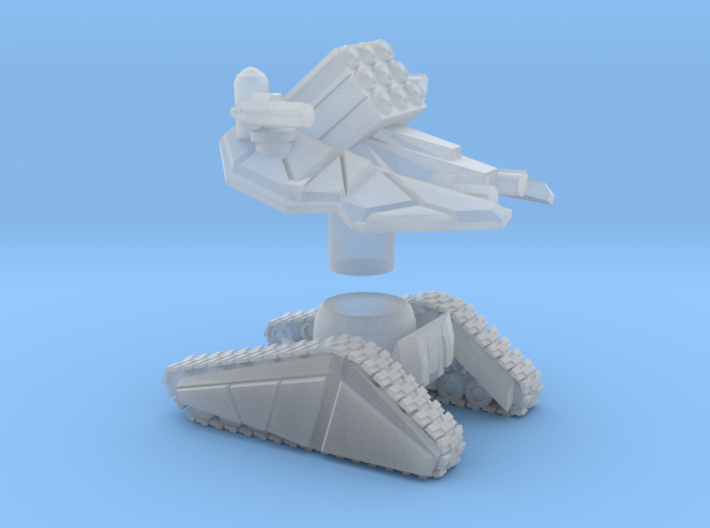 DRONE FORCE - Missile Artilery 3d printed