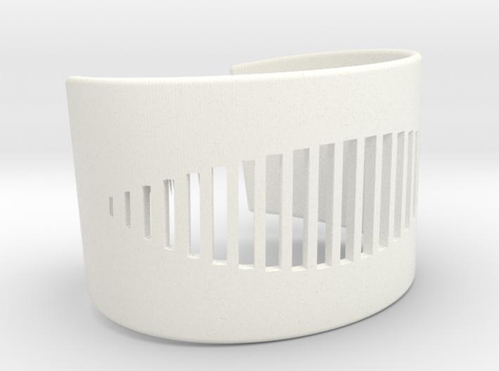 Wristcuff - pattern cutout (small) 3d printed
