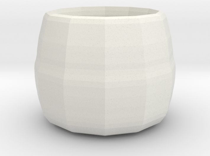 small plant pot 3d printed