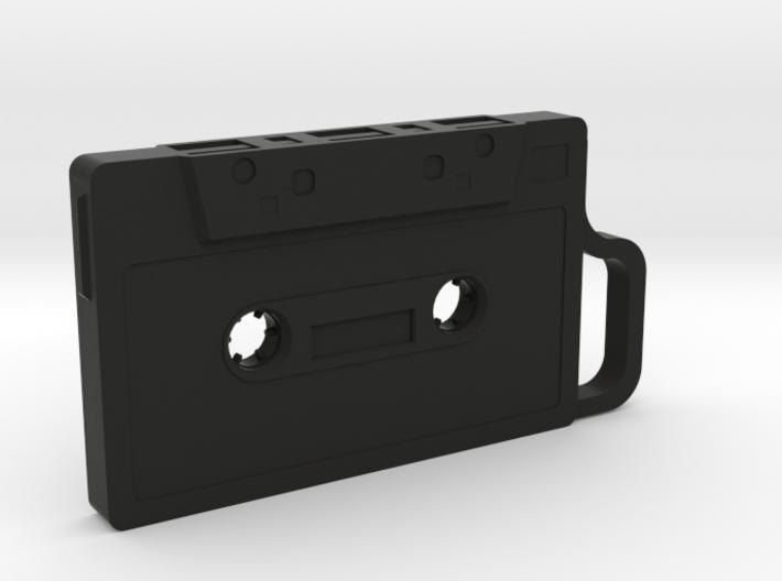 Cassette shape Keyring Key fob (Small) 3d printed