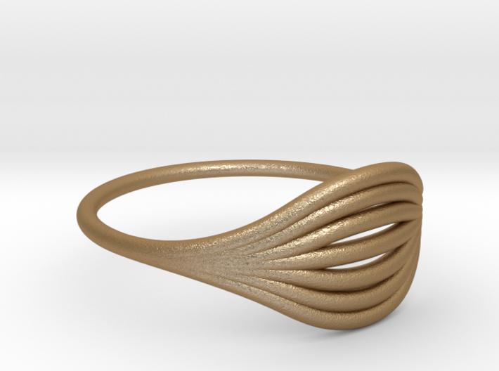 Flow Ring 01  3d printed