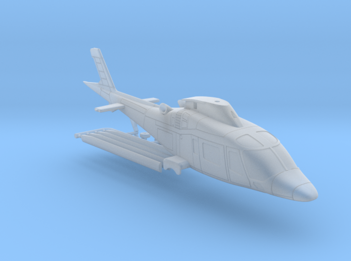 011A Agusta A109 1/144 3d printed