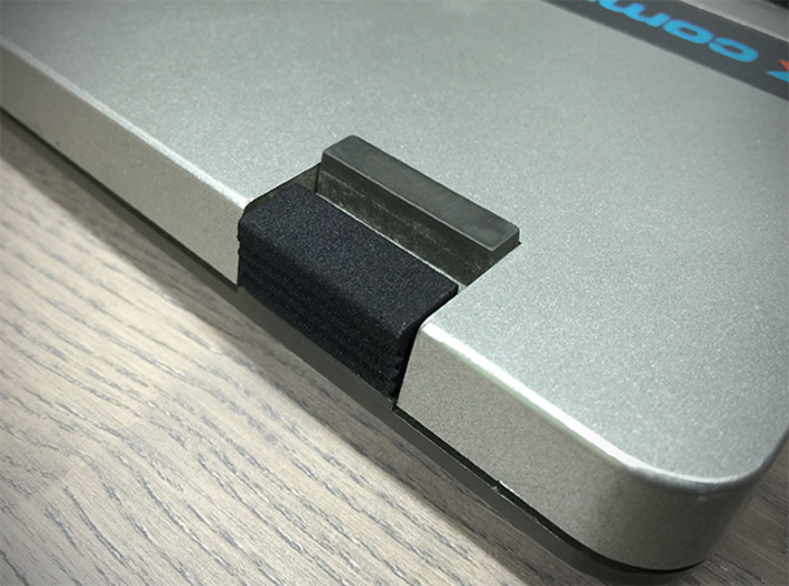 Keyboard Interlock Knobs for SX-64 3d printed Implemented Interlock in SX-64 keyboard