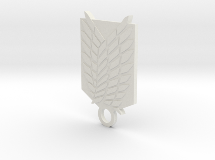 SNK Recon Corps Keychain 3d printed
