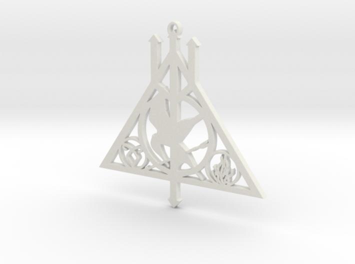 Fandom Necklace 3d printed